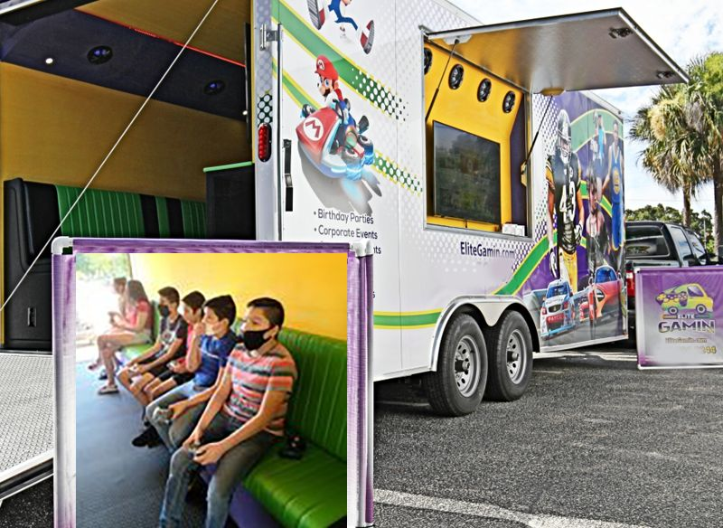 Game-Truck-Booking Online